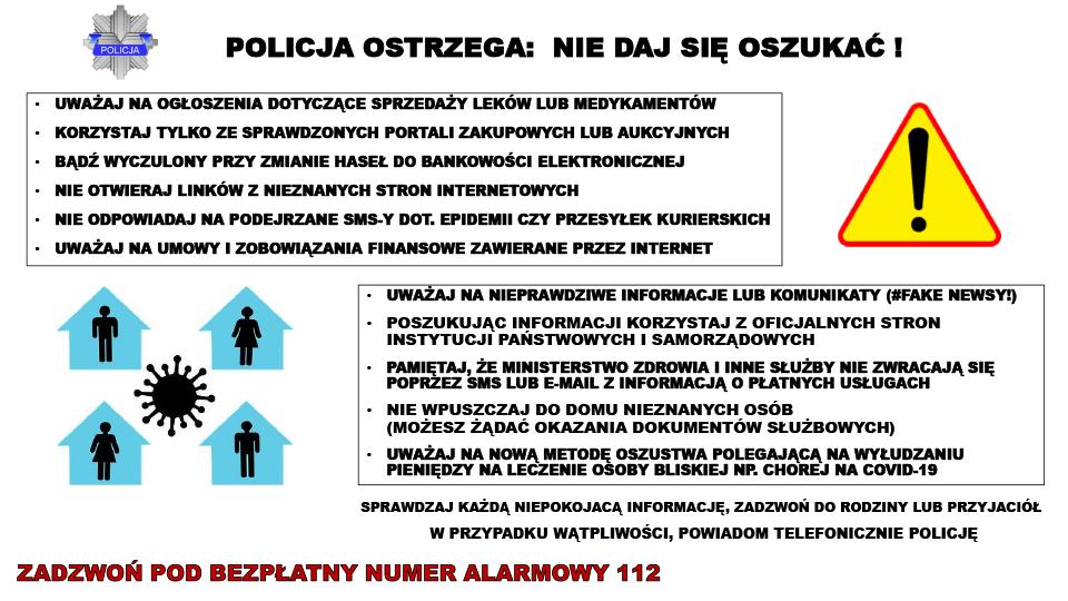 policja ostrzega