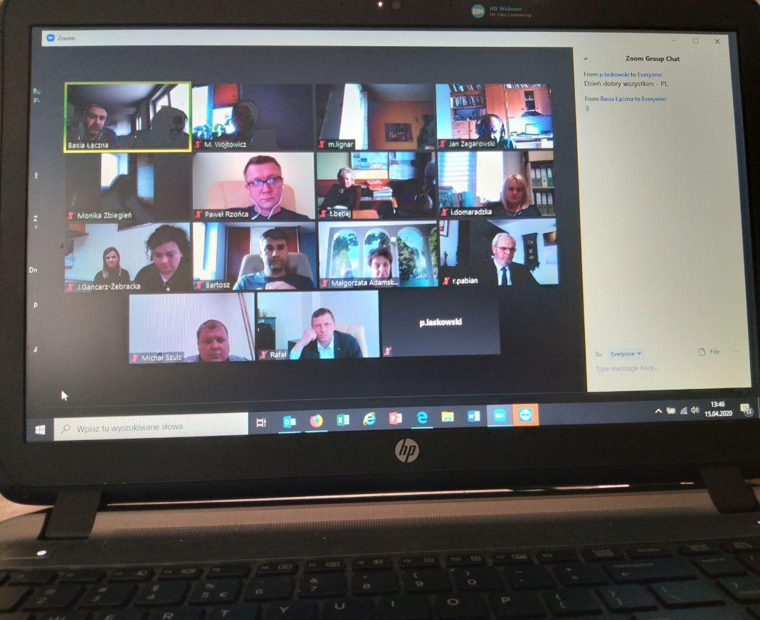 Spotkanie on-line Zespołu Miejskiego- Rozwój Lokalny