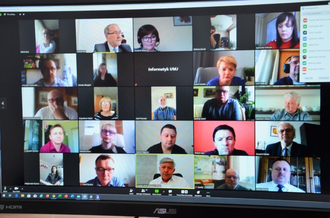 Sesja On line Rady Miejskiej Jasła