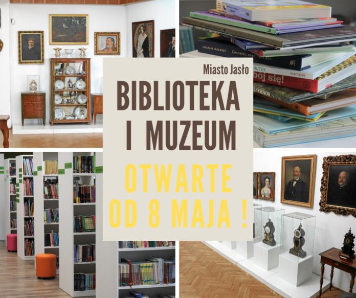 otwarcie biblioteki i muzeum