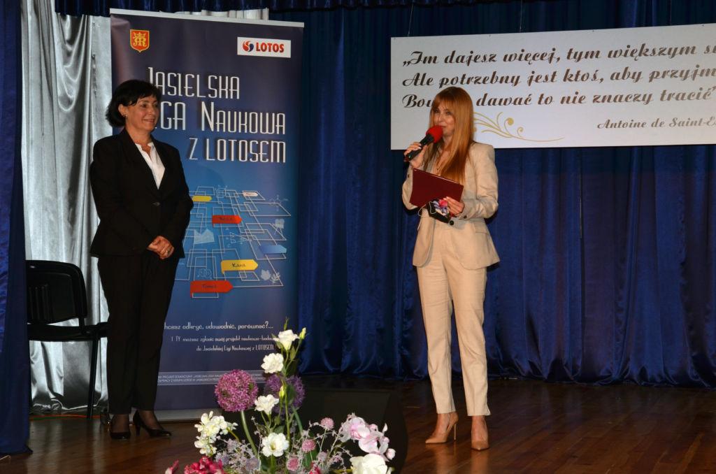 Przemówienie zastępcy burmistrza Elwiry Musiałowicz-Czech