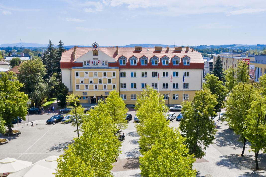 Budynek Urzędu Miasta w Jaśle
