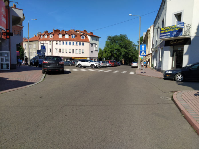 Plac Żwirki i Wigury w Jaśle