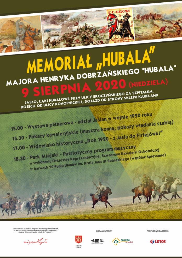 Memoriłą Hubala 2020 - plakat