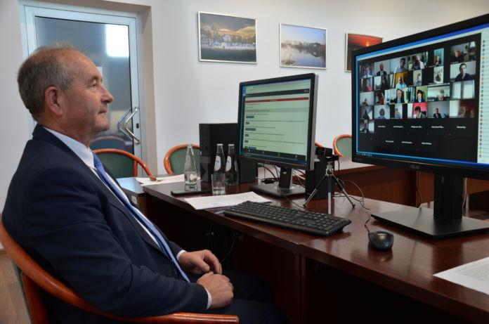 Sesja online Rady Miejskiej Jasła