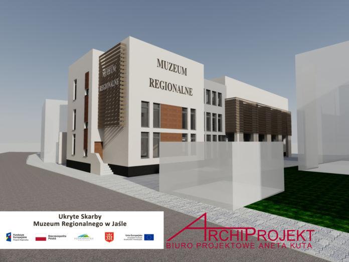 Wizualizacja Muzeum Regionalne w Jaśle