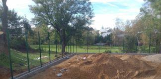 budowa boiska na Sobniowie