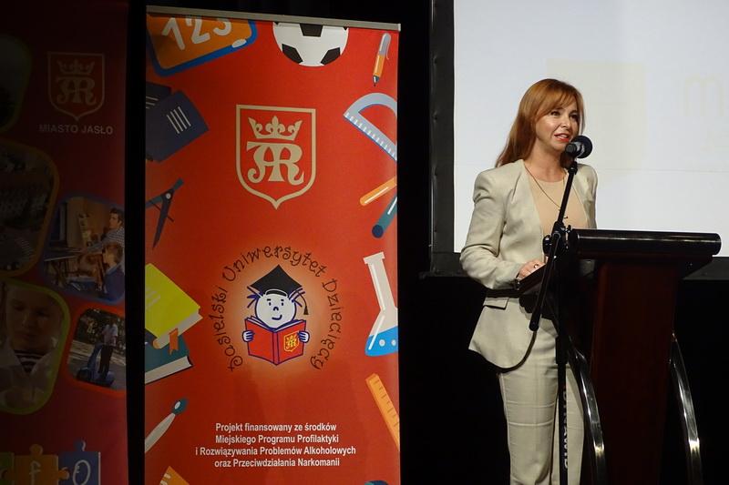 Elwira Musiałowicz-Czech - zastepca burmistrza Jasła