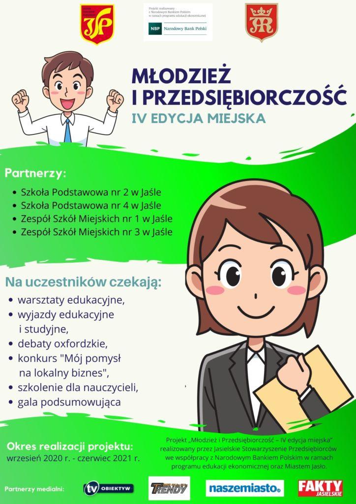 Młodzież i przedsiębiorczość - plakat