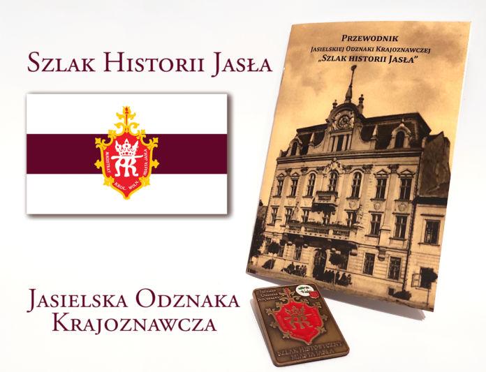 szlak historii Jasła - przewodnik i odznaka