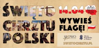 Baner Świeto Chrztu Polski, wywieś flagę