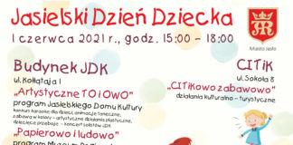 Jasielski Dzień Dziecka plakat
