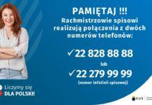 Numery telefonów rachmistrzów spisowych