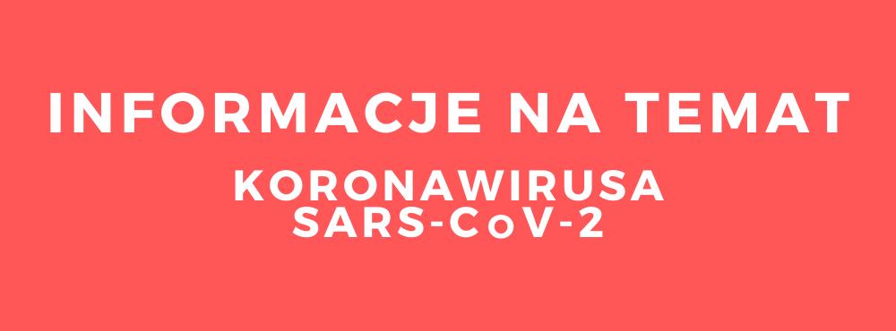 informacje dot. koronawirusa SARS-CoV-1