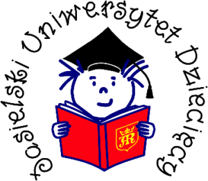 Logo Jasielskiego Uniwerytetu Dziecięcego